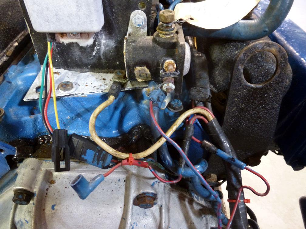 Engine  Grant Maclaren U0026 39 S 1972 Correct Craft Skier